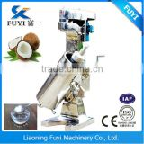 FUYI High speed Tubular centrifugal separator for extracting cold press virgin coconut oil