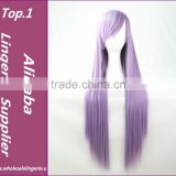 Grey/Purple/Blonde/Black Cheap Sex Products Synthetic Wig Lolita Anime Wig Cosplay Hair Wigs100cm Long Curly Perruque Peruca