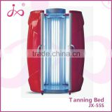Vertical solarium tanning bed for home use