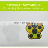 Cute LCD fever thermochromic strip kids forehead mini thermometer LCD fever thermometer strip for baby
