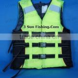 High quality fly fishing life vest, sea fishing life vest
