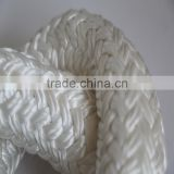 ship towing rope polyester double braided rope uv-resisted 40-120mm