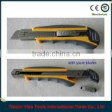 heavy duty utility knife with spare blades