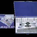 60 PCS METRIC AND INCH TAP AND DIE SET