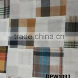 Madras Plaid Patchwork handmade pure fabric