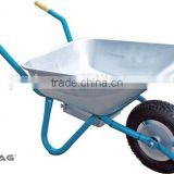 Electric wheel barrow