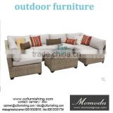 MMD016 Garden Corner Sofa Settee Couch Wow Rattan Outdoor Furniture Set NEW Seating