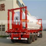 FAW truck carry a 40foot container tank