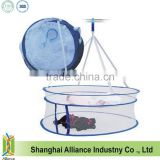 Round Sweater Drying Rack Folding Double Hanging Clothes Laundry Basket Dryer Clothes Drying Racks(TM-CPH-017)