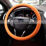 2017 hot selling custom printed logo silicone steering wheel case for car