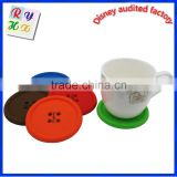 High Quality round Shape Silicone Cup Coaster/ Pot Holder / Coaster / Placemat / Hot Pad