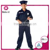 Policeman uniform cosplay for children hot sale Carnival and Halloween career costume