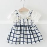 New Summer Cotton New Born Baby Dress Big bow Infant Girl Clothes Lace Princess Dress Toddler Dresses