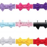 Baby Headband With Big Bows Infant Toddler Girl Turban Baby Hair Accessories