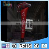 Outdoor inflatable air dancer rose sky dancer for advertising