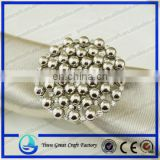 2015 new design magnet metal pearl curtain buckle