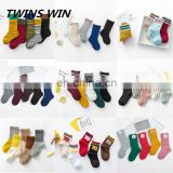 Alibaba cheapest Wholesale china knitted custom printed baby cartoon tube Eco-Friendly 100 cotton socks
