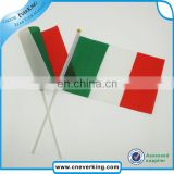 wholesale customized logo hand waving mini flag