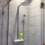 AT-P003 shower systems with platform stainless steel shower set chrome colour 3 functions Foshan supplier