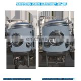 Fine copper beer fermentation tanks / fermenting tanks CE factory