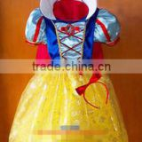 Girls Child Kids DELUXE SNOW WHITE Fancy Dress Costume Fairy Princess Dress-up 100-140