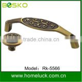 Supply brass handle drawer pull with high quality from BESKO