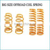 BIG SIZE SUSPENSION OFFROAD COIL SPRING FOR TOYOTA LANDER CRUSIER REAR SHOCK ABSORBER SPRING 4x4 COMPRESSION SPRING
