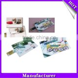 Cheap wholesale 1gb 2gb 4gb 8gb 16gb 32gb 64gb full-color imprinting card usb flash drive