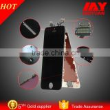 New Completed White for iphone 5 LCD Display Touch Screen Digitizer Frame Assembly with Button, Camera,Flex Cable