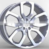 via jwl alloy wheels 20 22 inch wheels rims for LAND ROVERs cast wheel