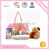 wholesale spot high quality trolley diaper bag,OEM baby diaper bag with adjustable shoulder stripe