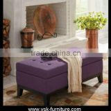 OT-012 Long Storable Ottoman Bench Behide The Bed