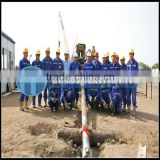 Hydraulic , rubber crawler type HFDP-15 drilling equipment for sale, mainly used for civic construction