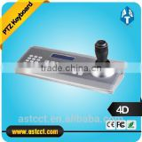 Professinal 4D Joystic Control Video Conference Camera VISCA Keyboard Controller PTZ Dome Camera