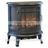 CSA approved 22 inch 3 Side Flame Viewing Electric Fireplace Stove