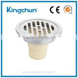 Lastest Arrival Bathroom Accessories Sink Brass Waste Floor Drain Chrome Plated(J8006-B)