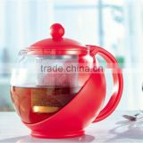 Chinese factory promotion heat resistant glass coffee/tea pot 750ML