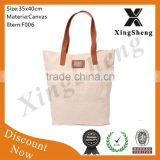 Promotional portable eco-friendly Eco-friendly cheap waterproof wholesale cotton shopping bag