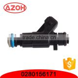 China wholesale OEM quality car engine parts oil atomizer fuel spray nozzle 0280156171 for Changan Star