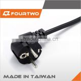 Made in Taiwan high quality low price retractable power extension cord,220v power cord cable,retractable power cord