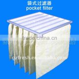 Sales promotion Air conditioner filter pocket air filter china bag filter with lowest price
