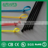 High Quality 100x Nylon Cable Ties / Tidies / Zip Ties 100mm x 2.5mm Black                                                                         Quality Choice