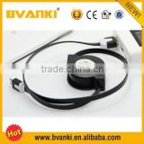 new products 2016 high quality retrackable the best PVC for charging and sync flat Micro USB CABLE 2.0