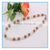 Fashion Europe and America Jewelry Christmas Gift Latest Design Costume Wholesale Pearl Necklace