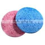 Round big sponge/ high absorbent cellulose sponge cloth