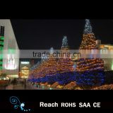 led street decoration motif light in holiday garden tree outdoor string lights decoration for christmas