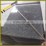 G654 pool tile dark grey granite swimming pool slides,bullnose drop face swimming pool border tile