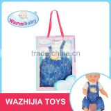 "Ali baba express wholesale games 18"" baby doll accessories taobao clothes for kids"