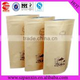 Cheap price flat bottom kraft paper grocery bag
