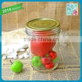 2015 China wholesale jar glass high quality glass jar with lid the best glass jars the jar can customized